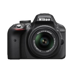 Nikon D3300 with AF-S 18-55 mm VR Kit Lens..