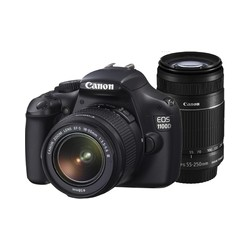 Canon EOS 1100D SLR with Double Lens Kit..