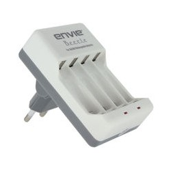 Envie ECR 20 Battery Charger For 2 or 4 AA/AA..