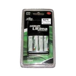 Eveready Ultima Rechargeable Nimh 2100 mAh..