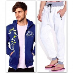"""Brohood Blue Stylish Sweatshirt And Trackpants Combo"