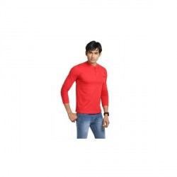 """John Caballo Solid Men's Henley T-Shirt"