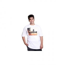 """Xmex Graphic Print Men's Round Neck T-Shirt"