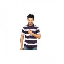 """Ultra Polo Striped Men's Polo Neck T-Shirt"