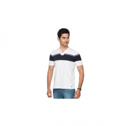 """Identiti Self Design Men's Henley T-Shirt"
