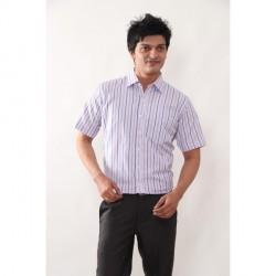 """Copperline Full Sleeves Stripes Shirt - Single Pocket - CPL0916"
