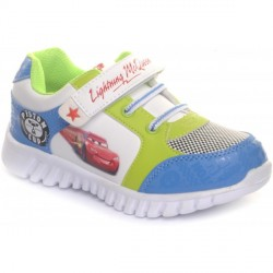 """Disney White And Royal Boys Sports Shoes"