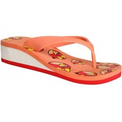 """Angry Bird Pink Women Slippers - 6715020"