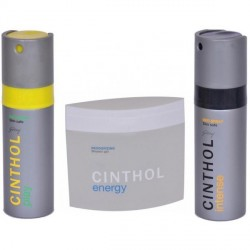 """Cinthol Summer Combo, Play+Intense Deo Spray and Energy Shower Gel"