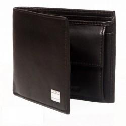 """""""Tommy Hilfiger Brown Leather Men Wallet - T001891"""