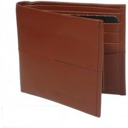 """""""Tommy Hilfiger Brown Leather Men Wallet - T026542"""