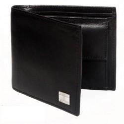 """""""Tommy Hilfiger Black Leather Men Wallet - T001884"""