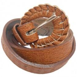 """Gci Plush Brown Belt For Women"