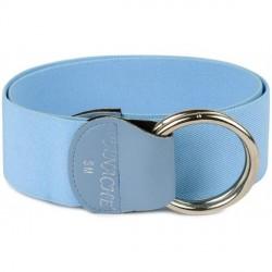 """Light Blue Elastic Belt"