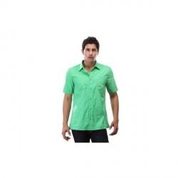 """Puma Sea Green Solid Shirt"