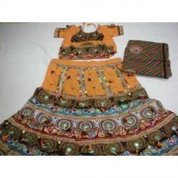 """Rajasthan Ghagra Choli Ethenic Dress Choli Dupatta for woman"