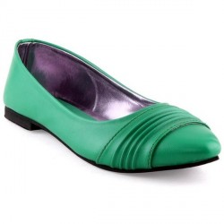 """Kielz Amazing Green Ballerinas"