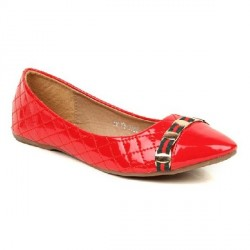 """Evetoes Red Ballerinas"