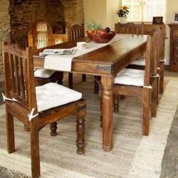 """Induscraft Modern Dining Table Set (INDN17)"