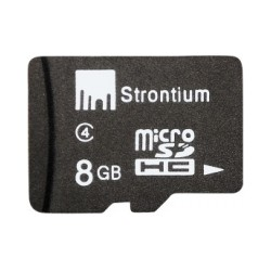 Strontium 8GB (Class 4) MicroSD Memory Card