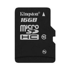 Kingston 16GB (Class 10) MicroSD Memory Card