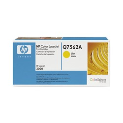 HP Q7562A Yellow LaserJet Toner Cartridge
